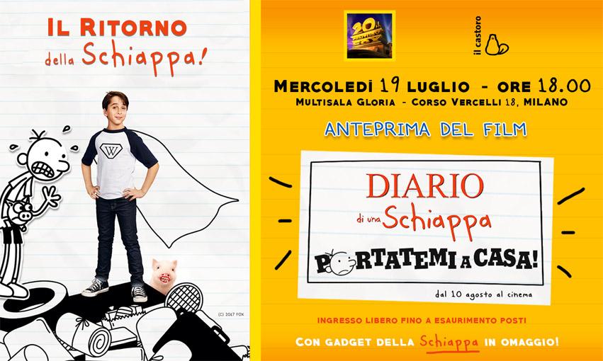 ANTEPRIMA GRATUITA del nuovo film DIARIO DI UNA SCHIAPPA