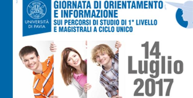 Porte Aperte all'Università di Pavia.