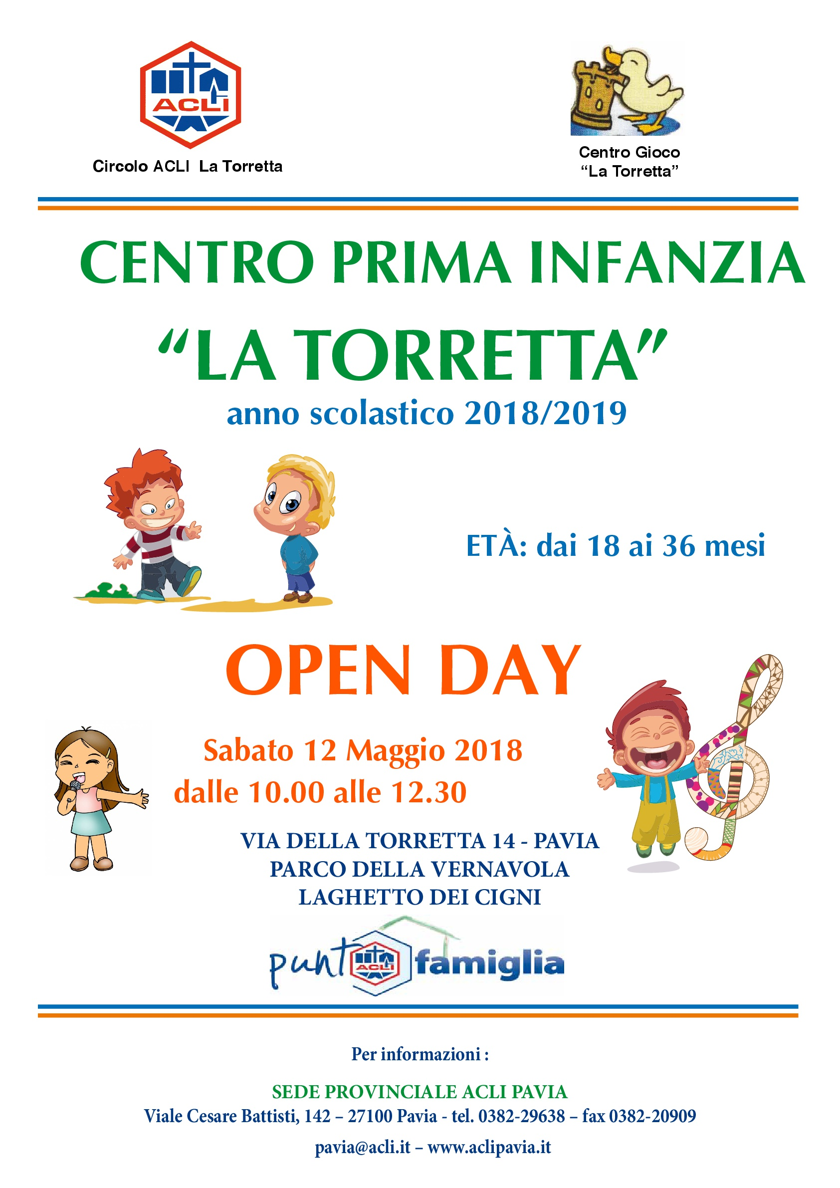 Open day 2018/2019